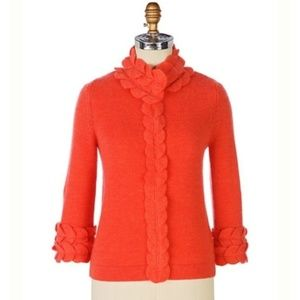 Anthropologie Swallow's Twitter Cardigan by Moth